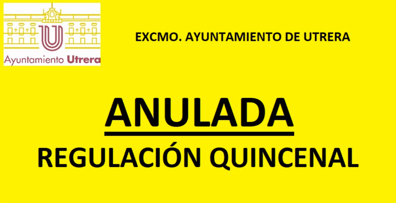 regulación quincenal aparcamientos